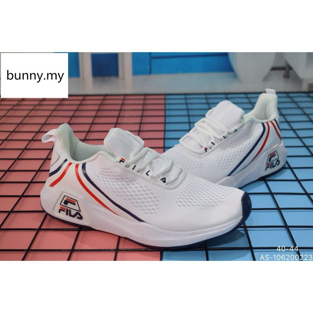 รองเท้าผู้ชาย ผู้หญิง รองเท้าผ้าใบ แท้ รองเท้ากีฬา รองเท้าวิ่ง Fila men Jogging Casual running shoes size:40-44