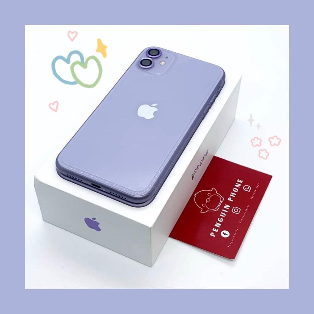 iPhone 11 128GB สี Purple มือสอง สภาพ 99.99% [ไอโฟนมือสอง iPhoneมือสอง ไอโฟนมือ2 ไอโฟนราคาถูก โทรศัพท์มือสอง มือสอง]