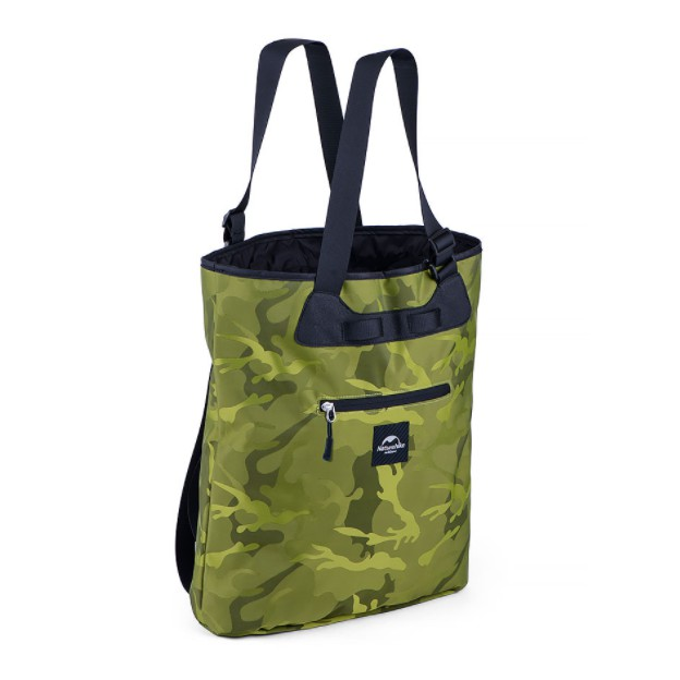 NATURE HIKE 15L DAILY LOCKSACK (CAMOUFLAGE GREEN)