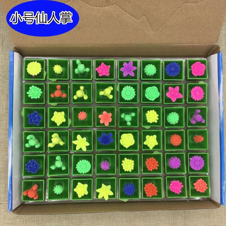 Ocean Baby Bubble big cactus expansion simulation color cactus stall hot sale toys wholesale