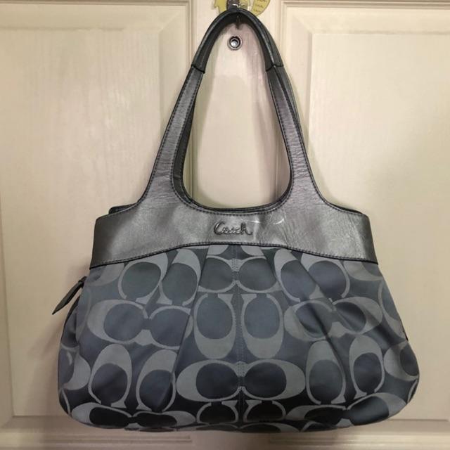 กระเป๋า Coach แท้💯 งานผ้ามือสอง