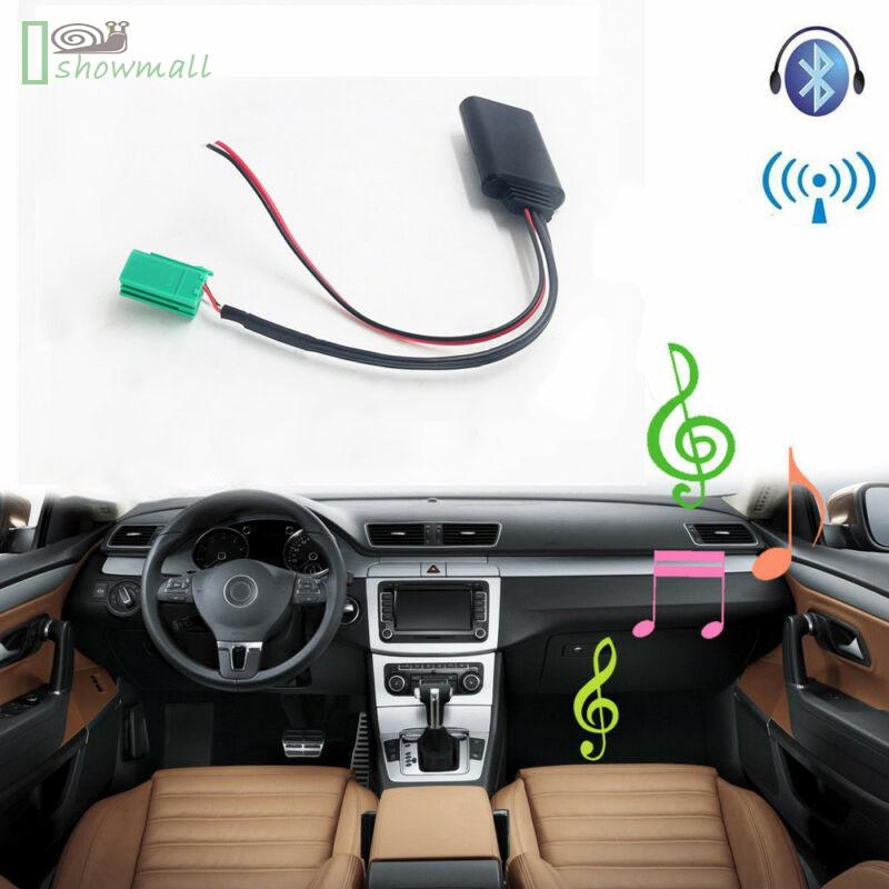 6 Pin Bluetooth Adapter AUX For Renault Clio Kangoo Megane Scenic Accessories