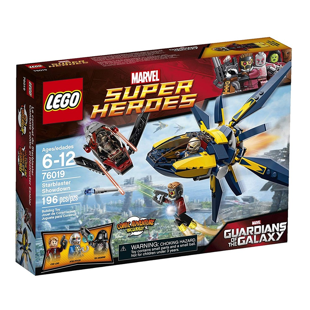 LEGO PART STICKER SET FOR 76019