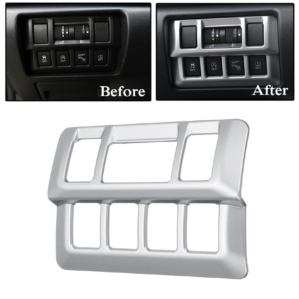 Interior Head Light switch Button Trim cover