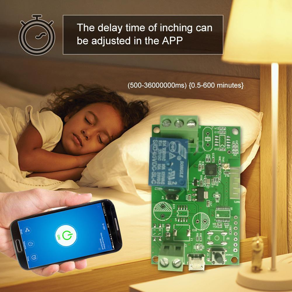 eWeLink DC5V / USB5V Wifi Switch Wireless Relay Module Smart Home  Automation Modules Phone APP Remote Control Timer Swit
