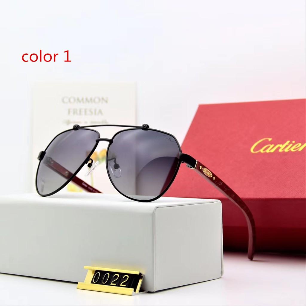 แว่นตากันแดดเลนส์ Polarized cartier