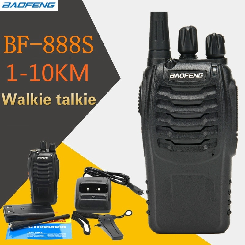 12X Baofeng BF-888S Two Way Radio Walkie Talkie Wireless Handheld UHF400-470MHz