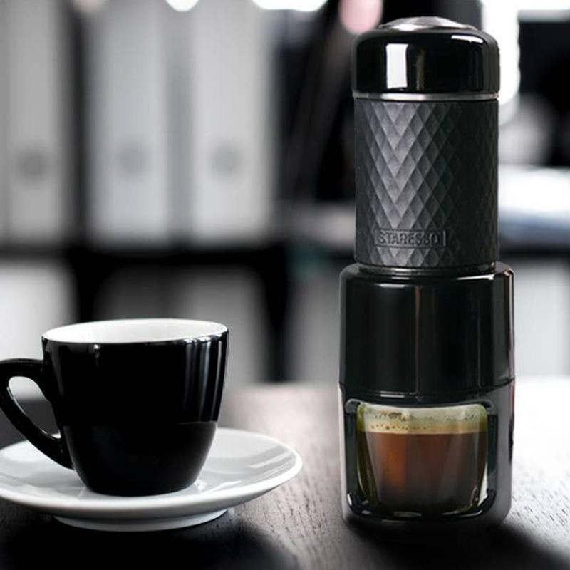 เครื่องทำเอสเปรสโซเครื่องทำกาแฟพกพาแบบพกพาเครื่องชงกาแฟกาแฟ