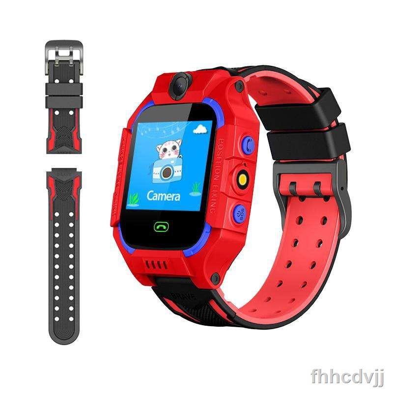 ☈Smart Watch Q19 นาฬิกาเด็ก สมาทวอช ใส่ซิมได้ จอสัมผัส SOS Z6 รองรับภาษาไทย ไอโม่ imoo สายนาฬิกานิ่ม โทรได้ มี GPS ติดต