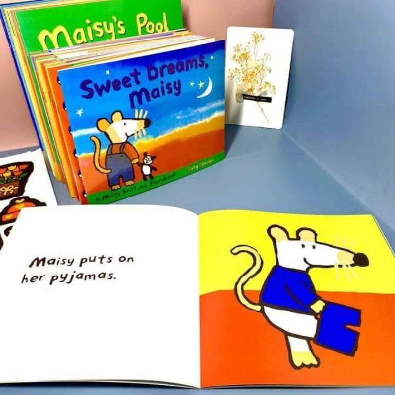 Maisy First Experience Box Set 36Books(20 books  life story,16 books first experience,สติ๊กเกอร์น่ารักๆ10แผ่น)
