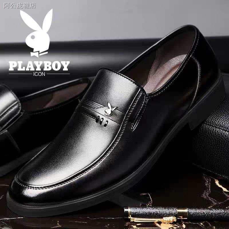 Playboy รองเท้าหนังวัวสําหรับผู้ชาย