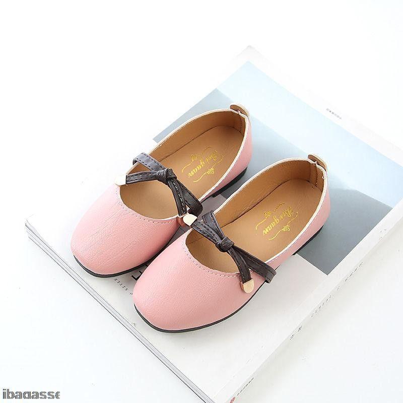 คัชชูผูกโบ รองเท้าเด็กผู้หญิง