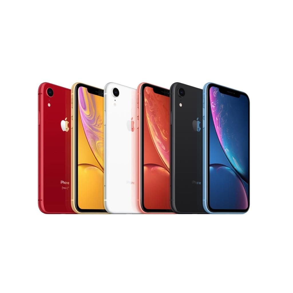 Apple iPhone XR 64GB เครื่องศูนย์ไทย รับประกัน 1 ปี model TH/A แถมฟรี! ฟิล์มกระจก Elements Glass