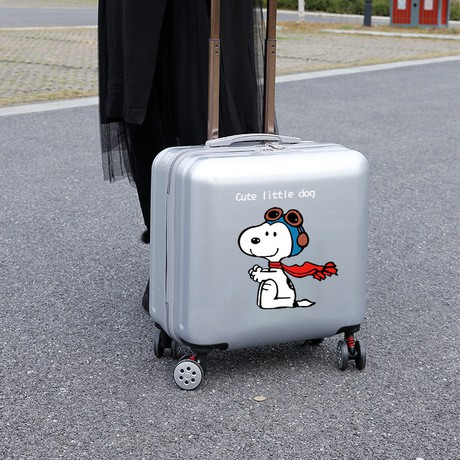 กระเป๋าเดินทางขนาด 18 นิ้วสําหรับเด็ก