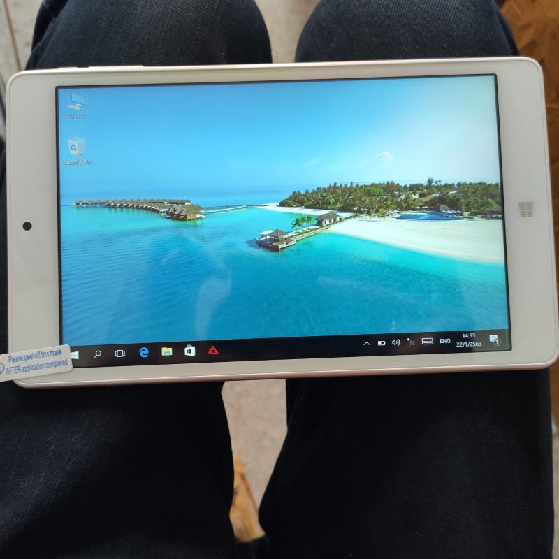 แท็บเล็ต Tablet Teclast X80 Power แท็บเล็ตมือสอง แท็บเล็ต 2 ระบบ ราคาถูก แท็บเล็ตสภาพพดี 2OS สีทอง ราคาประหยัด 1