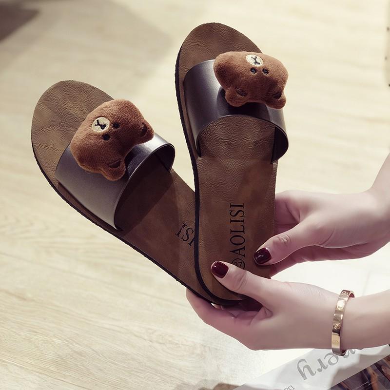 Kumamon Bear รองเท้า รองเท้าแตะ รองเท้าแฟชั่น รองเท้าผู้หญิแฟชั่น Fitflop ผู้หญิง รองเท้าคัชชู รองเท้าสวม