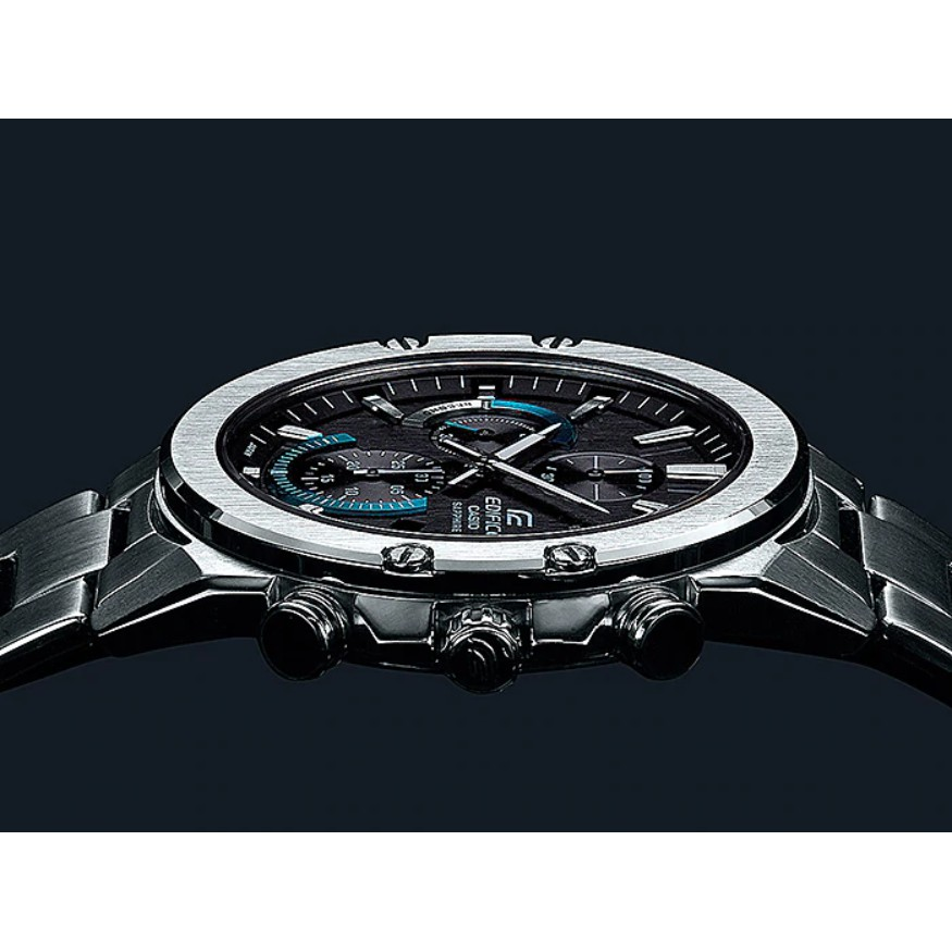 Casio Edifice นาฬิกาข้อมือผู้ชาย สายสแตนเลส  รุ่น EFR-S567,EFR-S567D,EFR-S567D-1A,EFR-S567D-1AV - สีเงิน 1nsZ