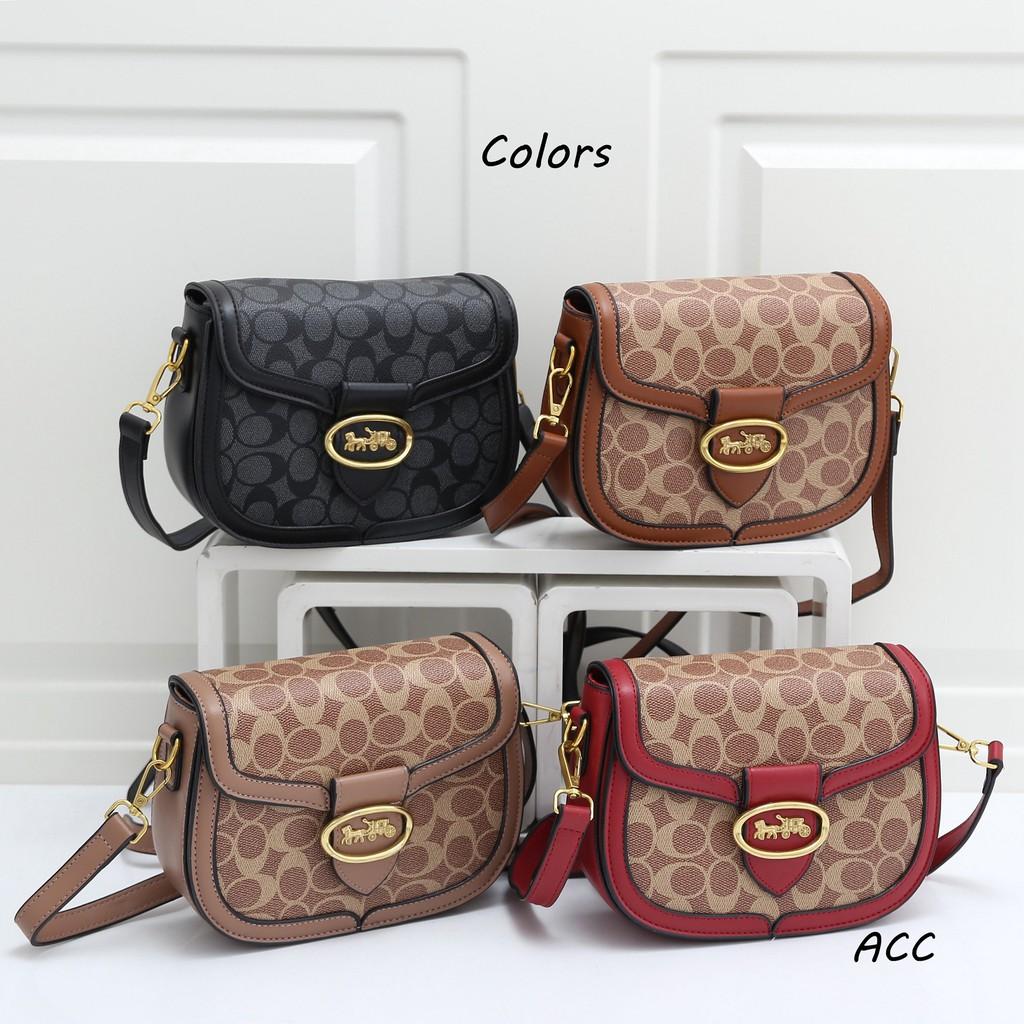 Coach bag กระเป๋าสะพายข้างผู้หญิงกระเป๋าแฟชั่นกระเป๋าเป้กระเป๋าสะพายข้าง