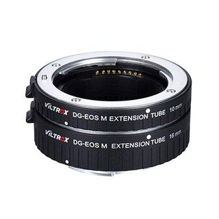 Viltrox DG-EOS M Automatic Extension Tube 10mm and 16mm Auto Focus,For Canon EF-M Mount