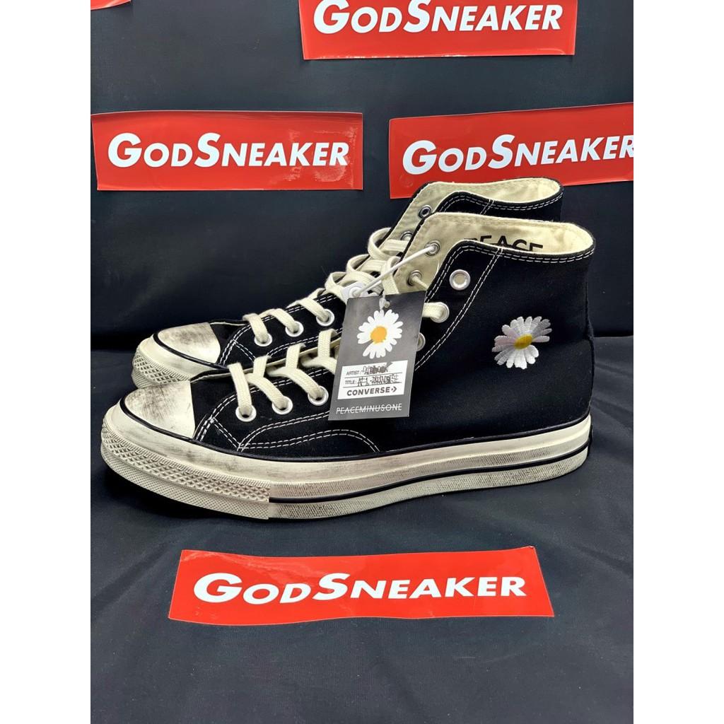 รองเท้า Converse 1970s X PEACEMINUSONE Black Size37-44