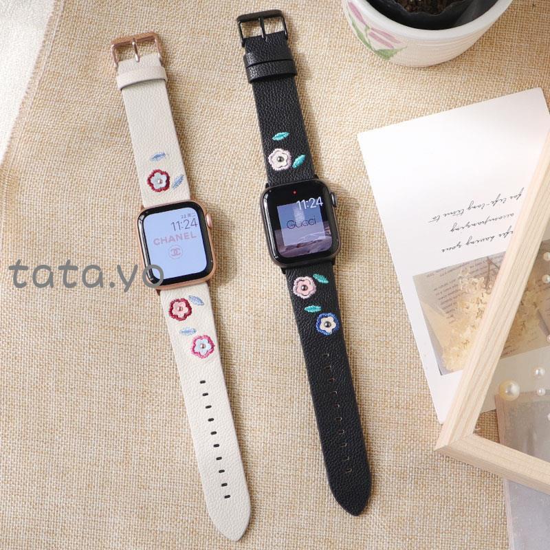 🌂🎣สายนาฬิกาข้อมือสําหรับ Applewatch Applewatch SE Watch iwatch6 / 5 applewatch4
