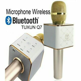Microphone wireless bluetooth