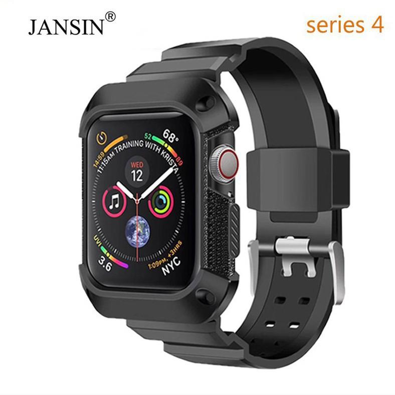 ☈✧❡เคส 4 44 มม. เคสสำหรับ Apple Watch 40 มม.44 Series 6 se 5 WatchBand