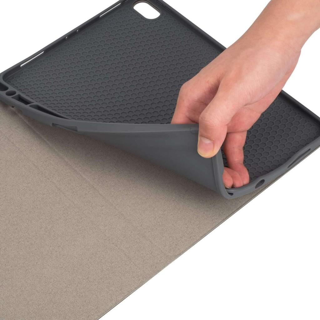 Qcase – เคสคีย์บอร์ด iPad 10.2 Gen 7 แป้นพิมพ์ ไทย/อังกฤษ รองรับการชาร์จ Apple Pencil - Smart Case Keyboard Touchpad 0PR