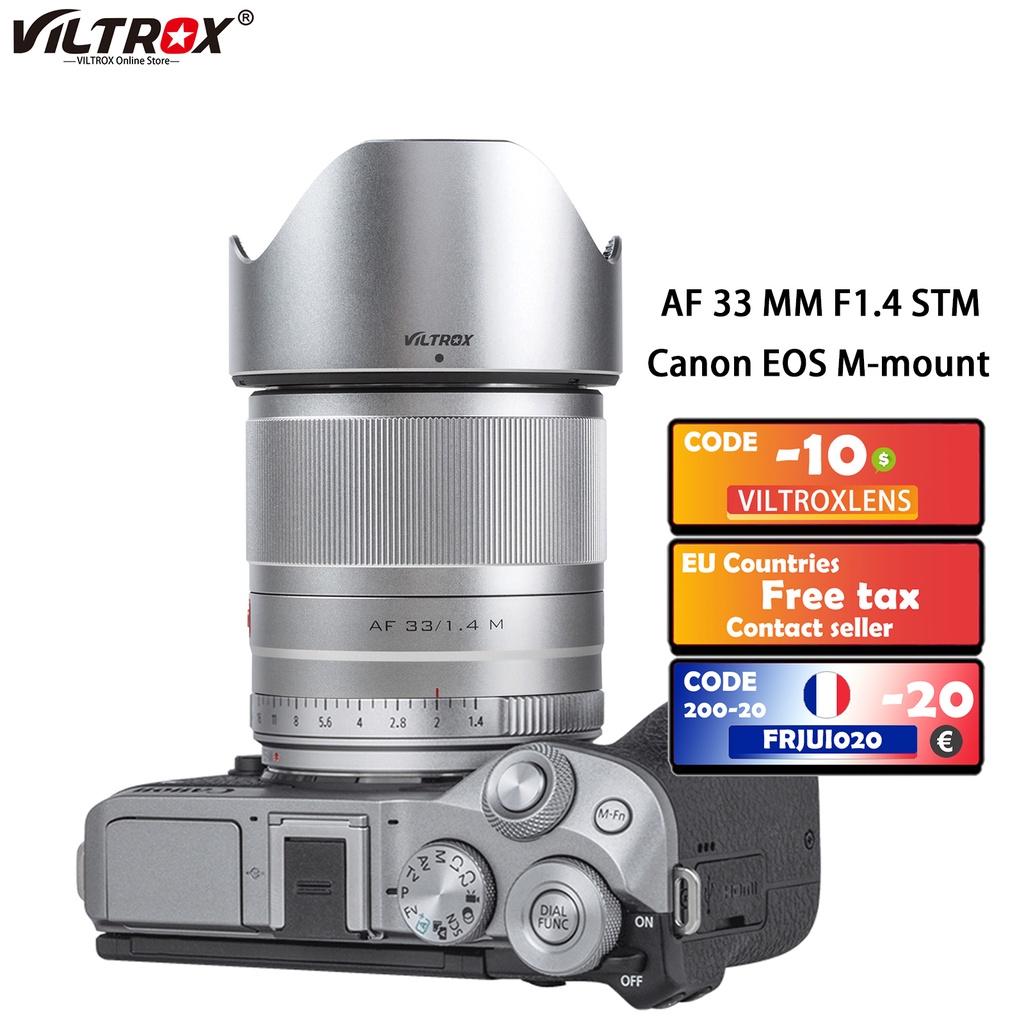 หมอนท่องเที่ยว  Viltrox 56mm f1.4 EFM Large Aerture Auto Focus ortrait Lens ASC rime Lens For Canon EOS M Cameras M5 M6