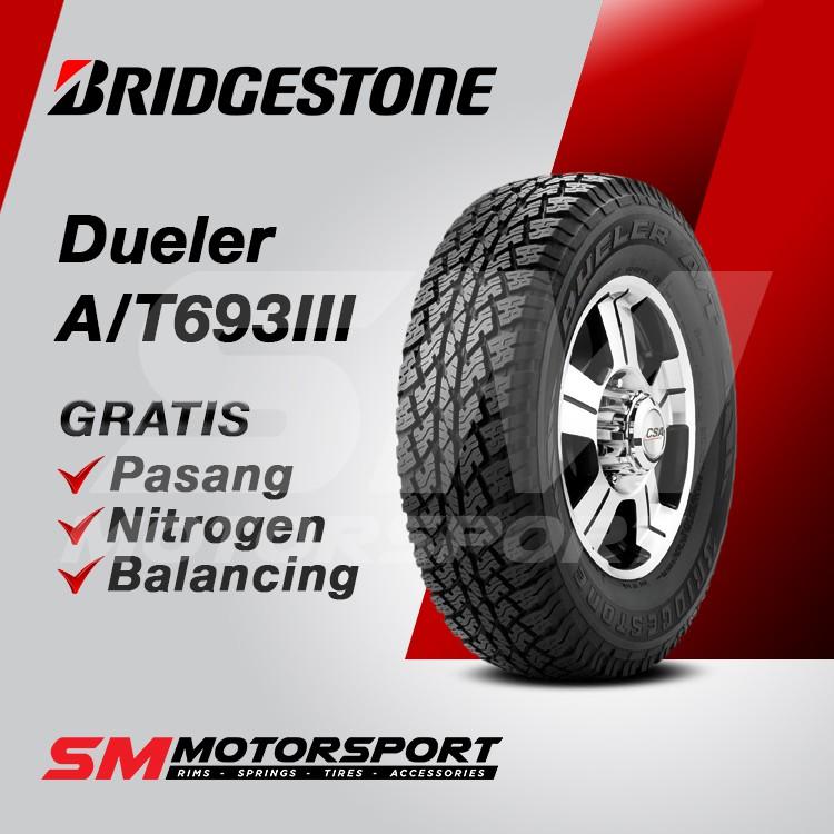 ชิ้นส่วนอะไหล่สําหรับ Oner Bridgestone Dueler Tires At 693iii 265 / 65 R17 17 102s