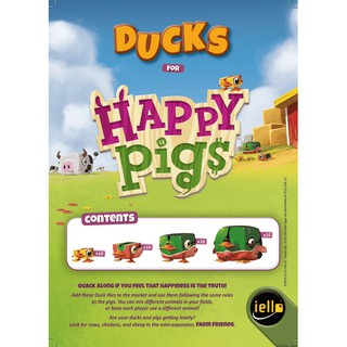 Happy Pigs: Ducks [Promo] [BoardGames]