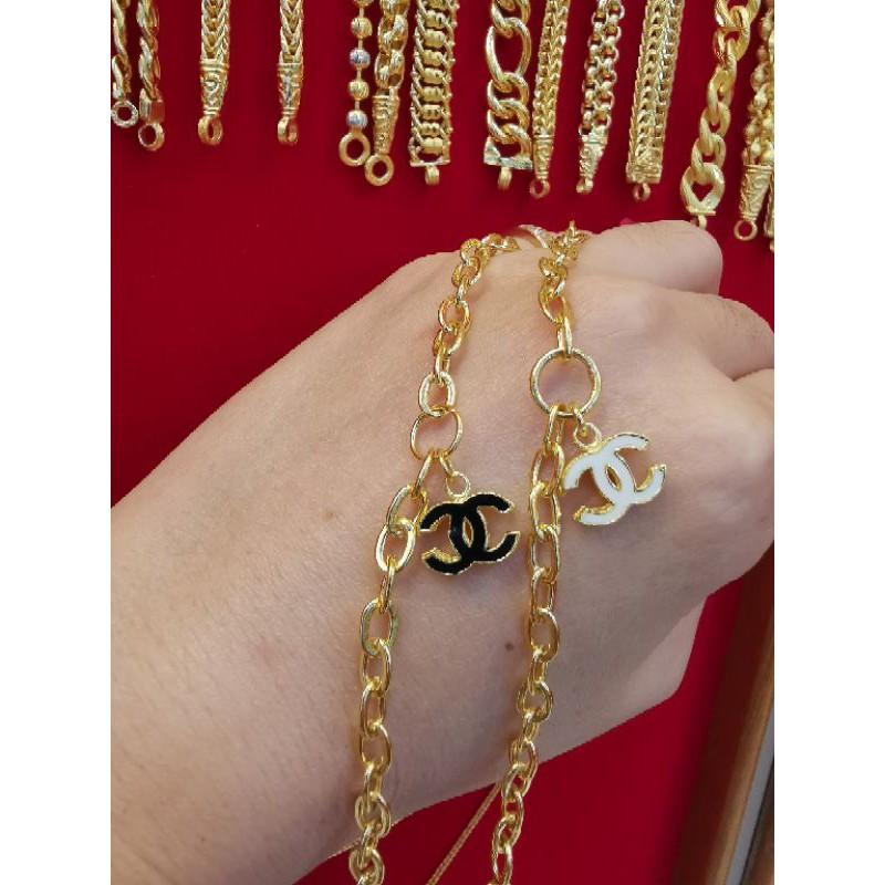 ซื้อเฮงใส่ดี สร้อยมือทอง 96.5%  น้ำหนัก 2 สลึง ยาว 16-17.5cm ราคา 14,900บาท