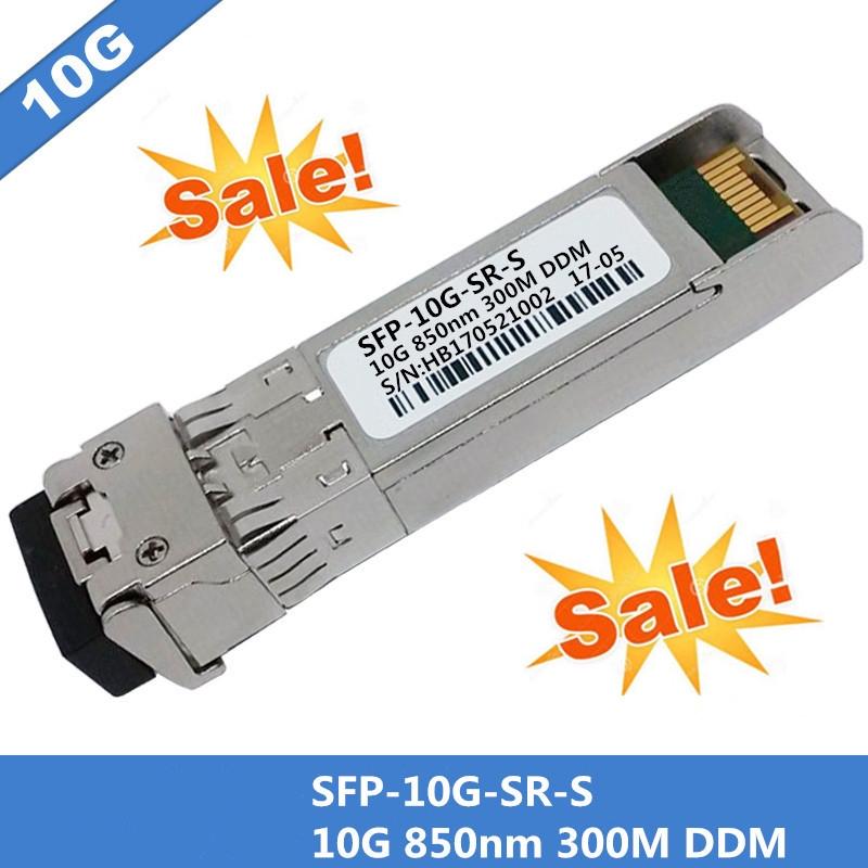 Cisco SFP-10G-SR-S SFP MMF 10GBase-SR 850nm Transceiver Module