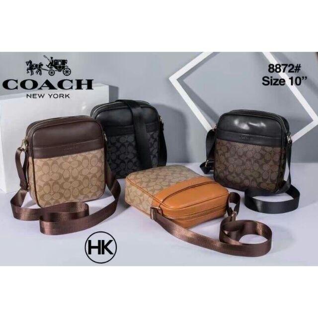 กระเป๋าสะพายข้าง Coach กระเป๋าสไตล์โค้ช Coach messenger bag style