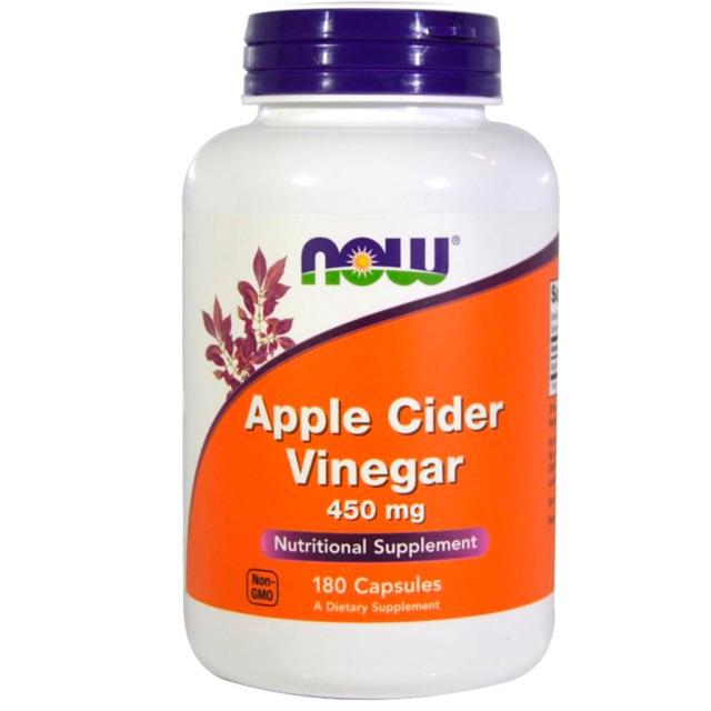 แอปเปิ้ลไซเดอร์วีนีการ์, Apple Cider Vinegar 450mg 180 capsule หรือ with mother