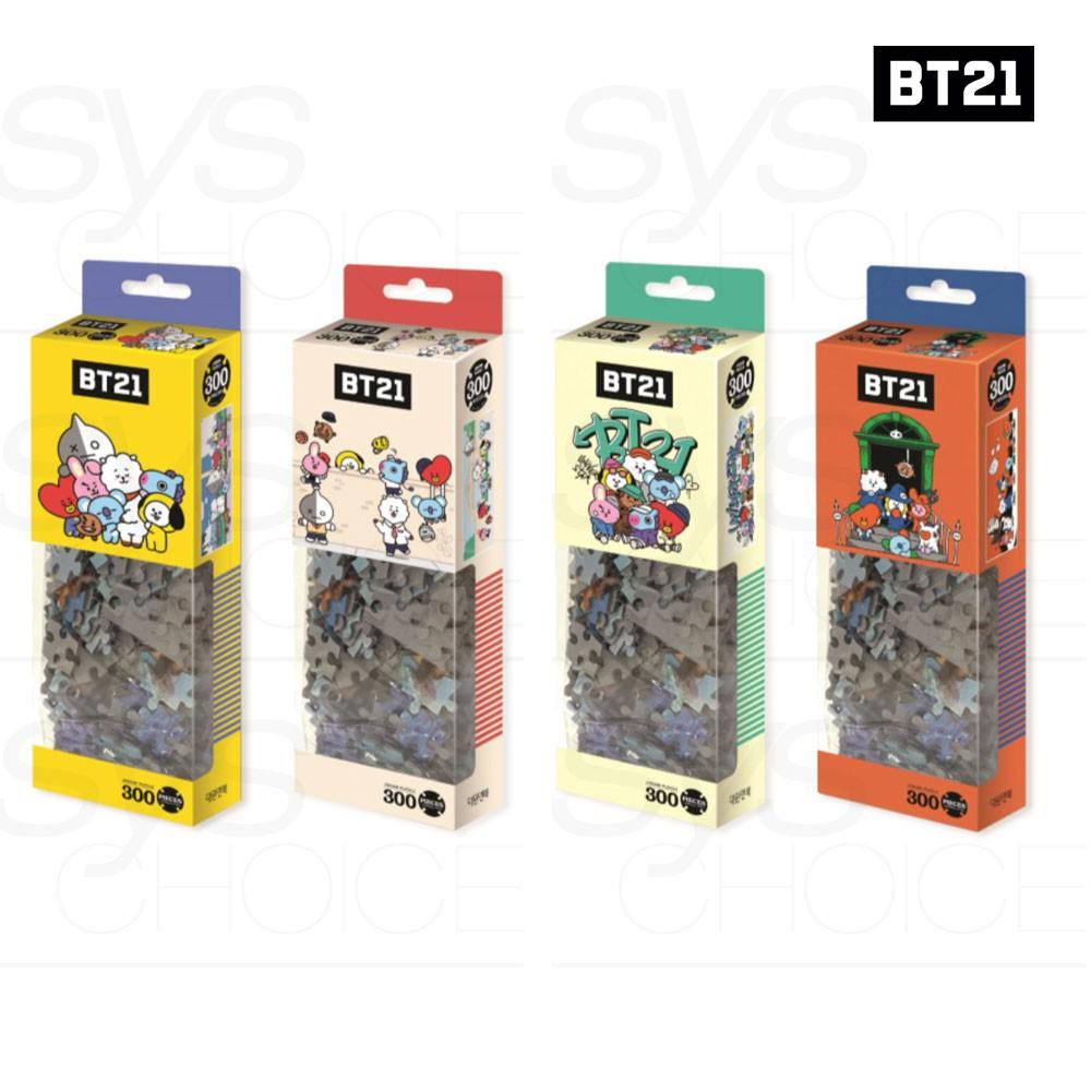 BTS BT21 Official Authentic Goods Jigsaw Puzzle 300pcs 4Type