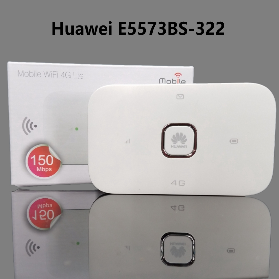 E5573-322 4G huawei Mobile MIFI Dongle Lte Wifi Router Pocket WiFi  แอร์การ์ด โมบายไวไฟ ไวไฟพกพา