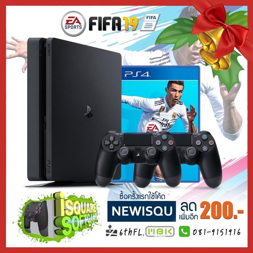 PS4 Silm FIFA 19 Promotion Set ประกันศูนย์ไทย 1ปี 90วัน [CUH-2016]