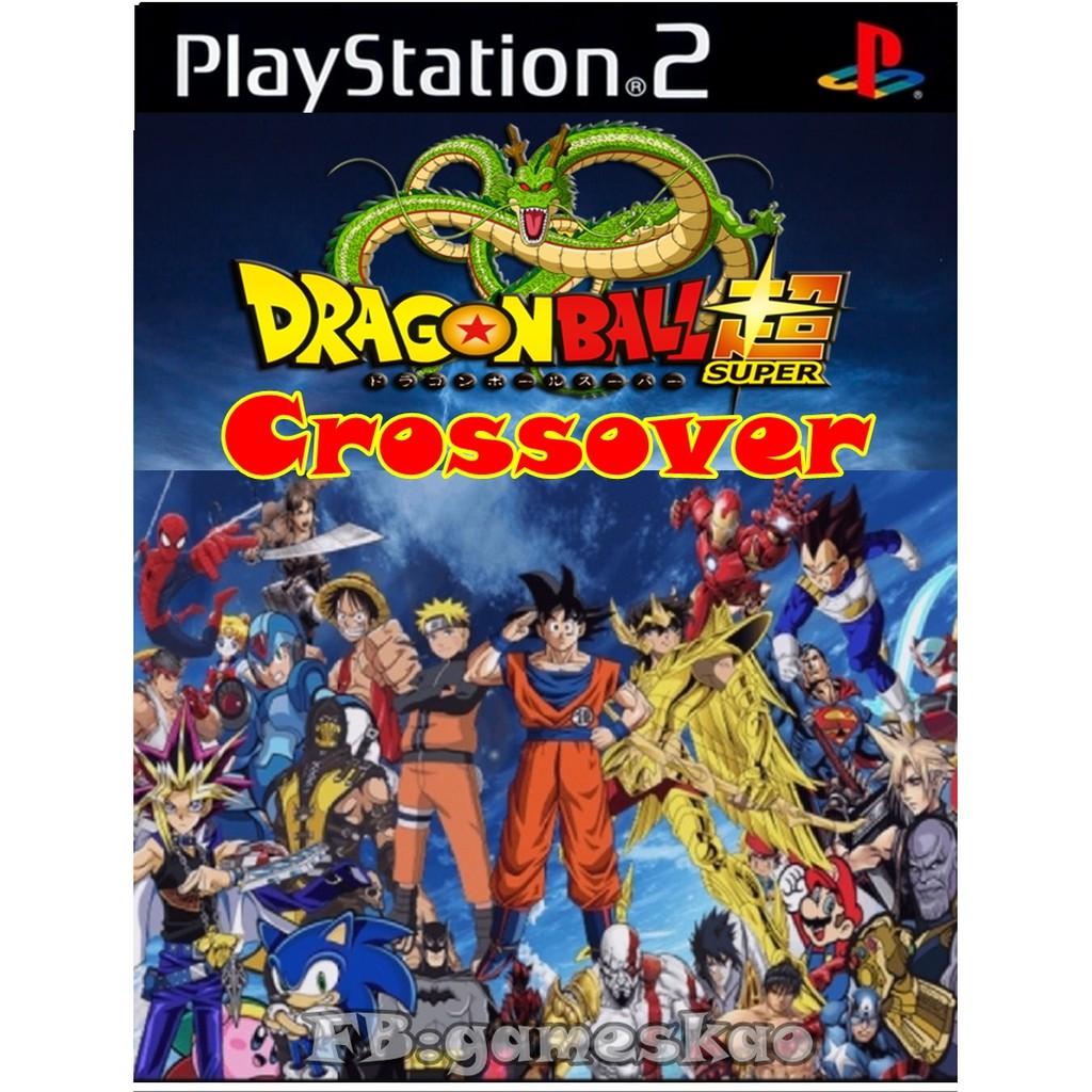 แผ่นเกมส์ Dragonball Z Crossover เล่นกับเครื่องPS2