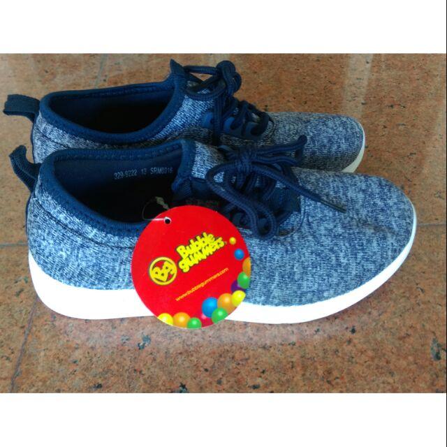 รองเท้าผ้าใบลำลองเด็กแบรนด์ Bubble gummers แท้ของBata