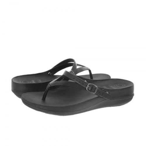b2435fbd75a รองเท้าแตะ Fitflop รุ่น flip leather