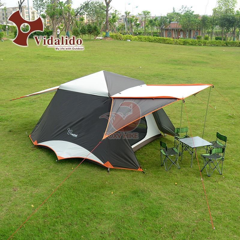 ประกัน 1 ปี เต็นท์ Vidalido Instant Cabin Tent  Plus XLเต็นท์กางอัตโนมัติ เต็นท์แบบเคบิน