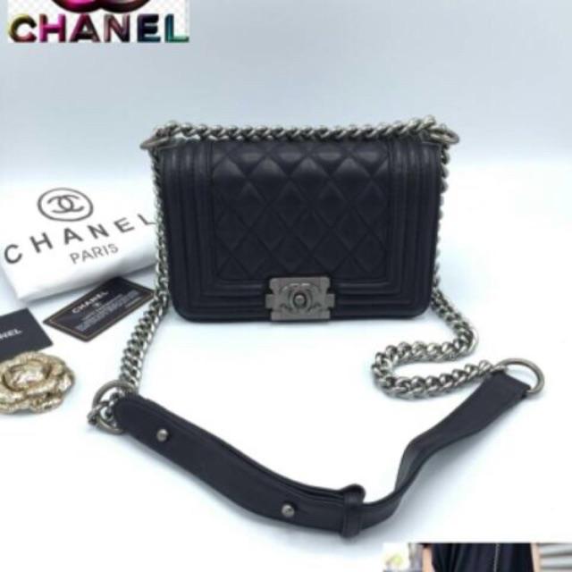 Chanel Boy ขนาด8