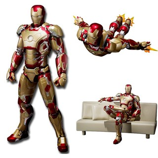 SHF S.H.Figuarts Iron Man Mark 42 with Sofa Action Figure Collectible Models Toy