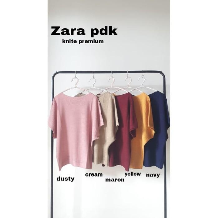 Devy เสื้อเบลาส์ / Tunic / Ity Ity Crepe (zara Pdk Rajut Ro) สําหรับผู้หญิง 67mxx