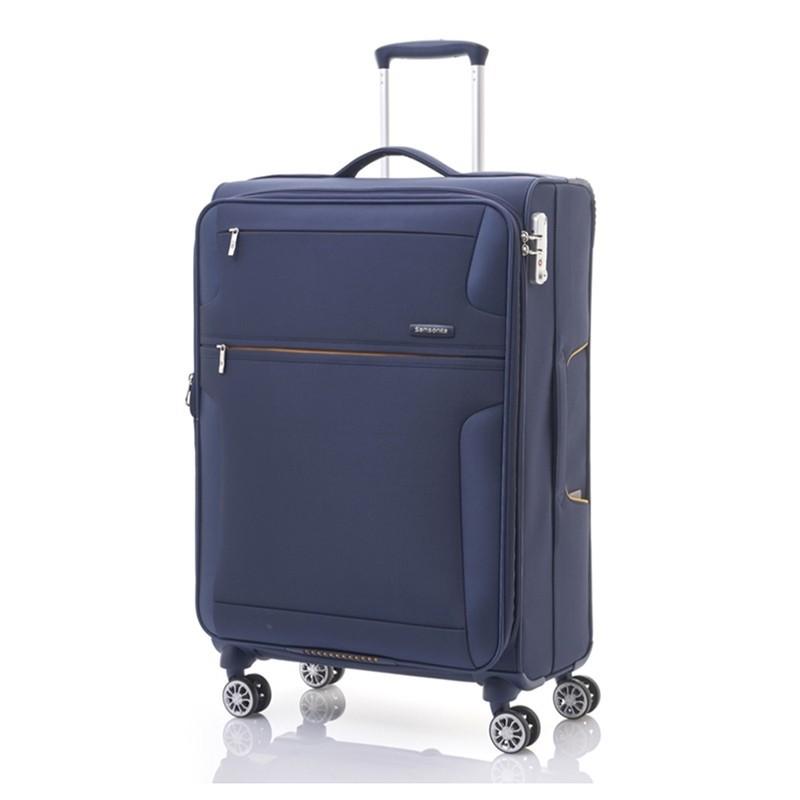 """กระเป๋าเดินทาง กระเป๋าเดินทางล้อลาก [SIZE24""""] SAMSONITE  รุ่น CROSSLITE ขนาด 24 นิ้ว SOFTSI กระเป๋าล้อลาก กระเป๋าเดินทาง"""