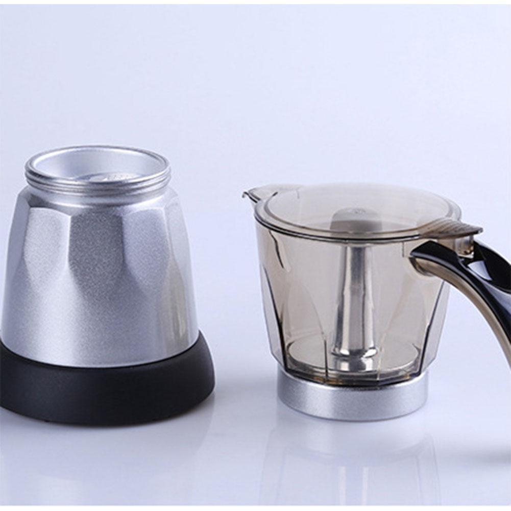 Hot! electric moka pot 6 cup กาต้มกาแฟสดmokapot แบบไฟฟ้าใช้งานง่ายได้รสชาติกาแฟสดแบบเครื่องทำกาแฟแรงดันราคาแพงๆ ฮิต!