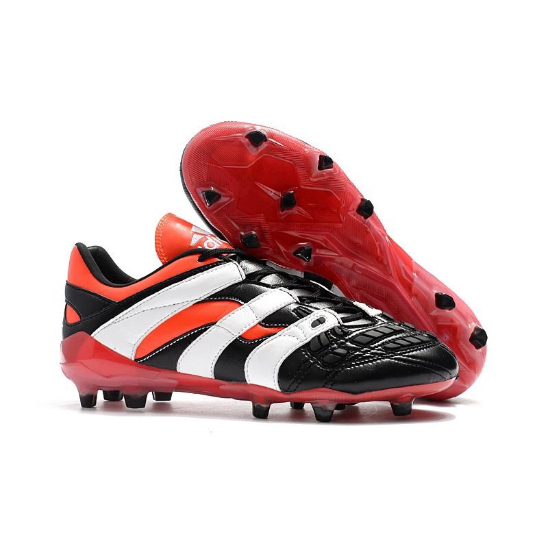 รองเท้า Adidas Predator Accelerator รุ่น Red Black Falcon 4 รุ่น Replica Limited Edition รองเท้าฟุตบอล FG รองเท้า D9666