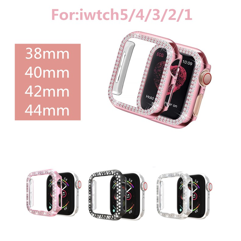 พร้อมส่งจากไทย!เคส Apple iWatch SE Series6 5 4 3 2 1 38 มม. 40 มม. 42 มม. 44 มม. Case For 38MM 40MM 42MM 44MM