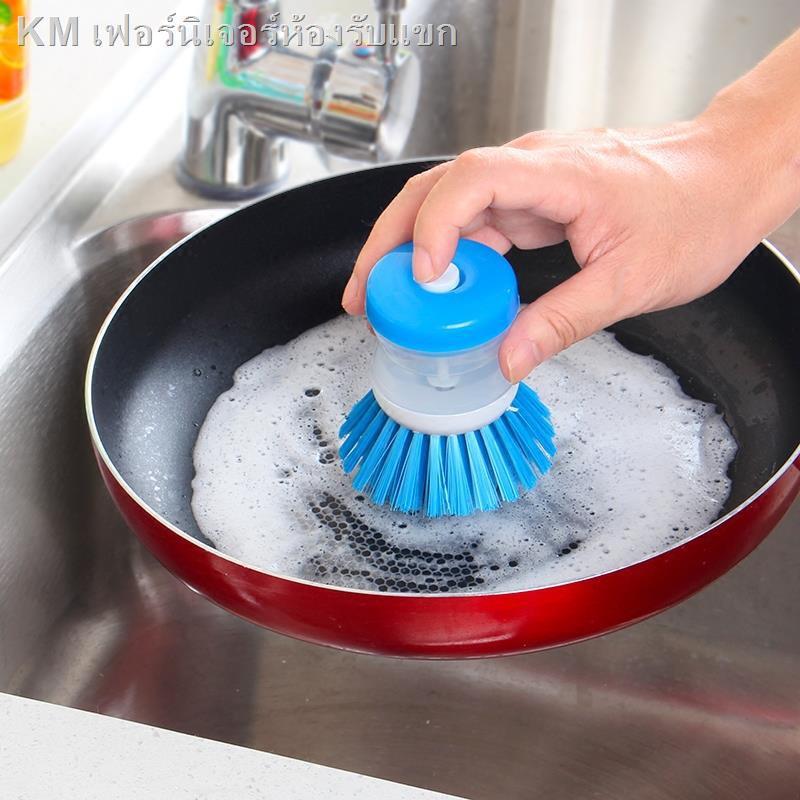 ✎ครัวสิ่งประดิษฐ์แปรงสบู่เหลวอัตโนมัติ, ผงซักฟอกความดันน้ำยาล้างจานแปรง, แปรงบนโต๊ะอาหาร, หม้อแปรง